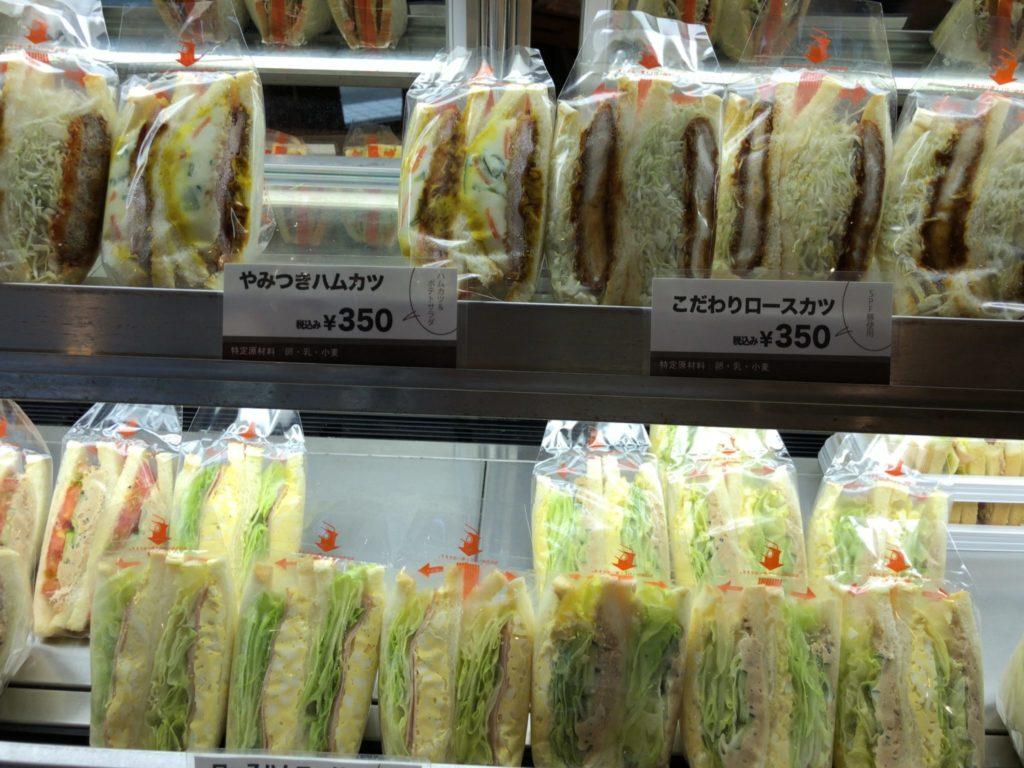サンドイッチカフェあまみのサンドイッチ
