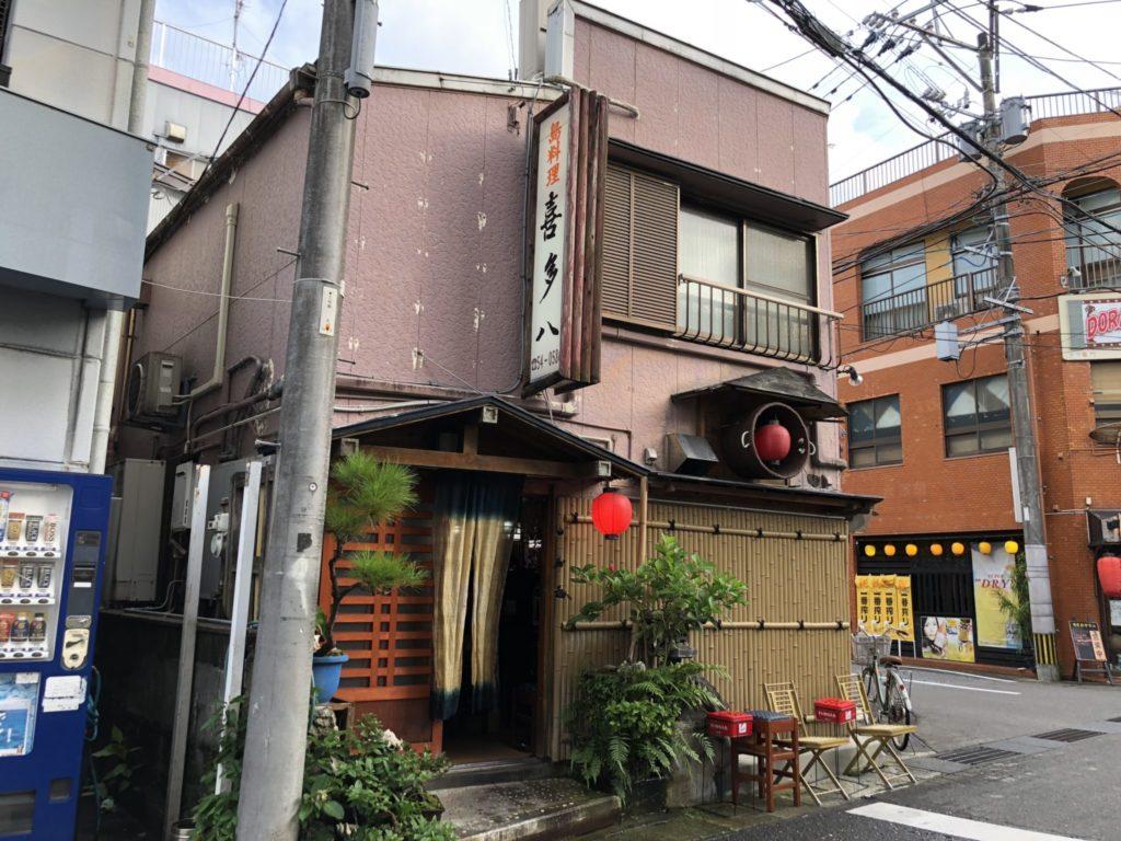 奄美大島の喜多八