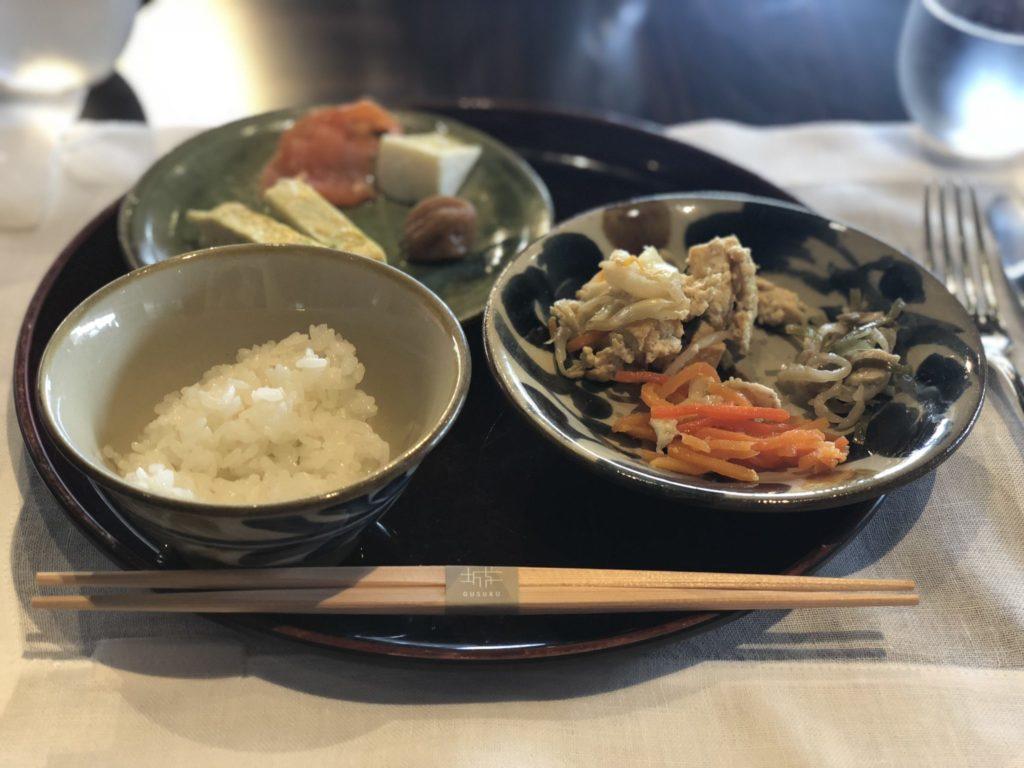 ザ・リッツカールトン沖縄の朝食