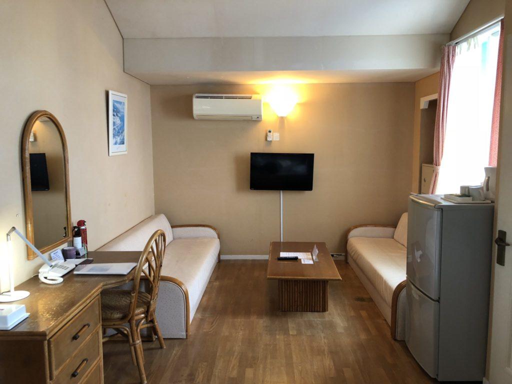 プリシアリゾートヨロンのスタンダードタイプの部屋