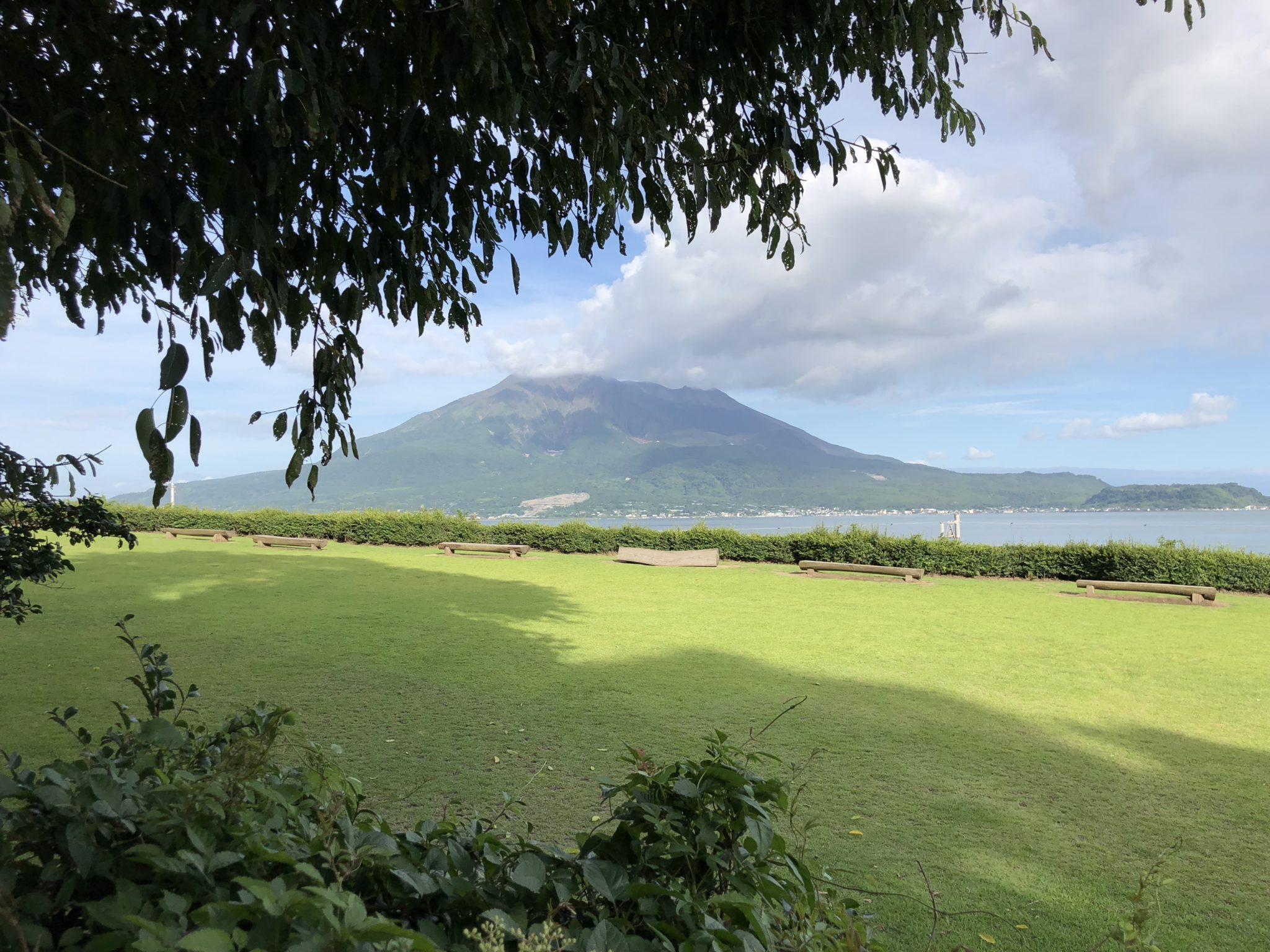 鹿児島県の桜島