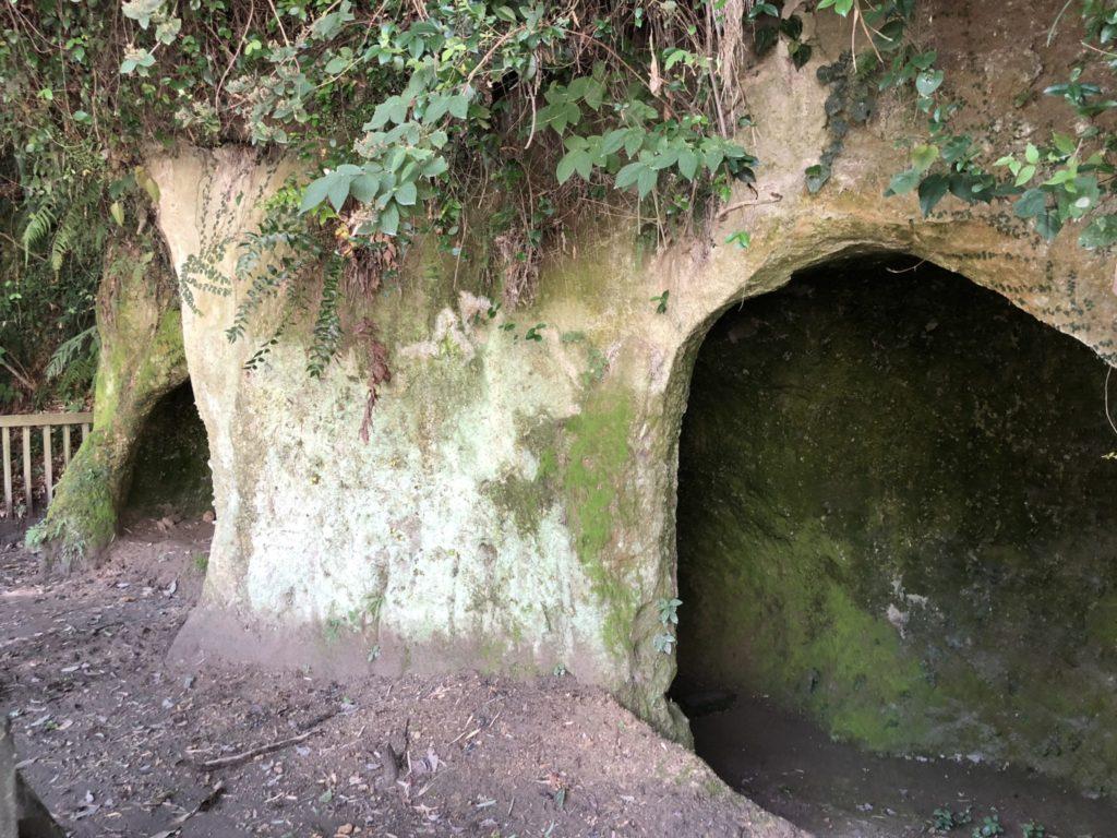 西郷隆盛の洞窟