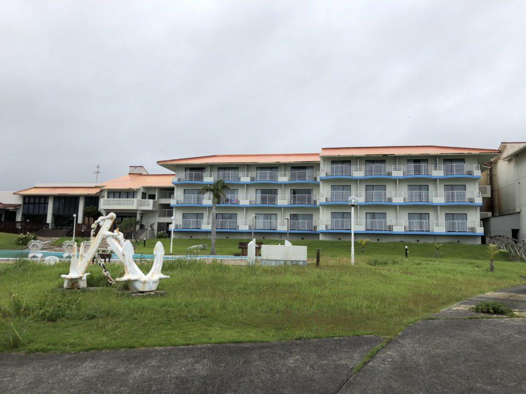 奄美大島のコーラルパームスの外観
