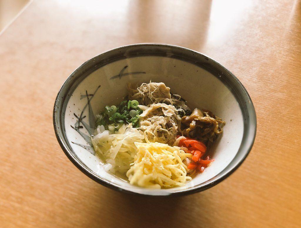 ひさ倉の鶏飯