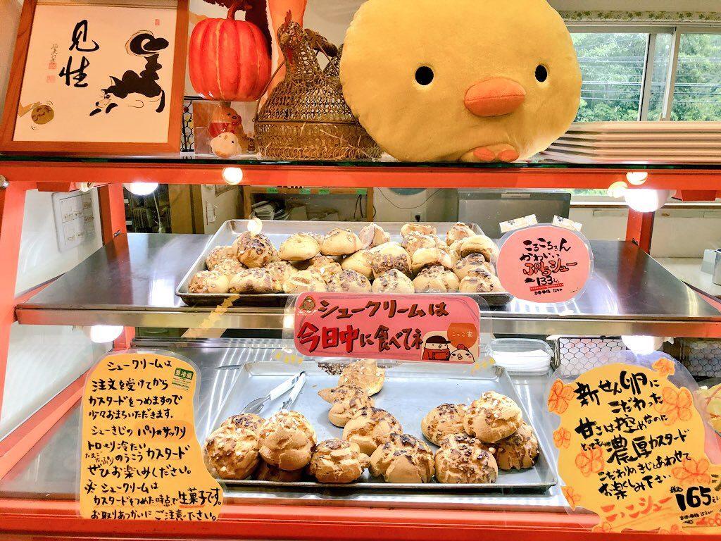 奄美大島のこっこ家のシュークリーム