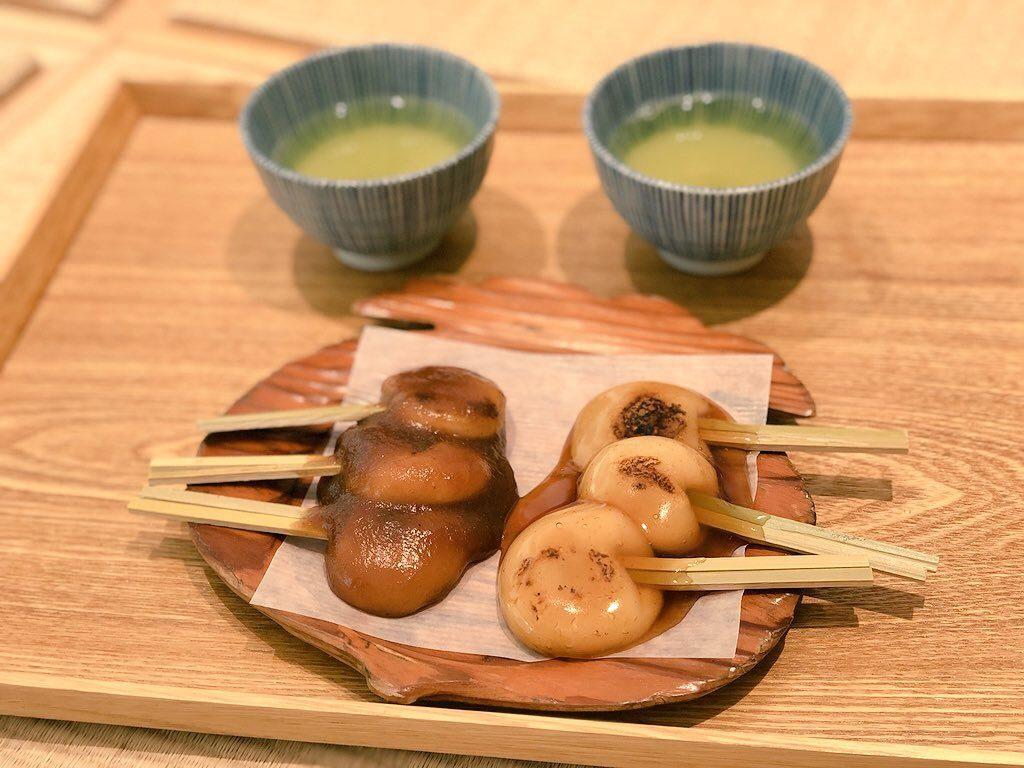 仙巌園のぢゃんぼ餅