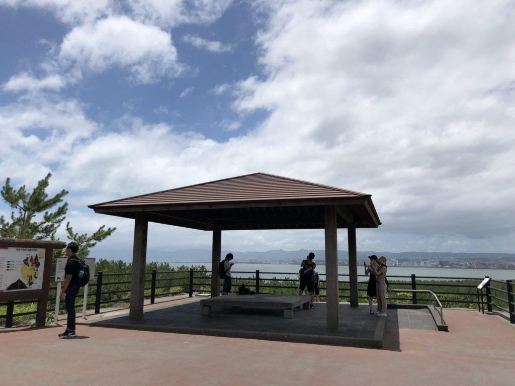 桜島の烏島展望所