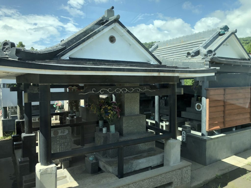 桜島のお墓