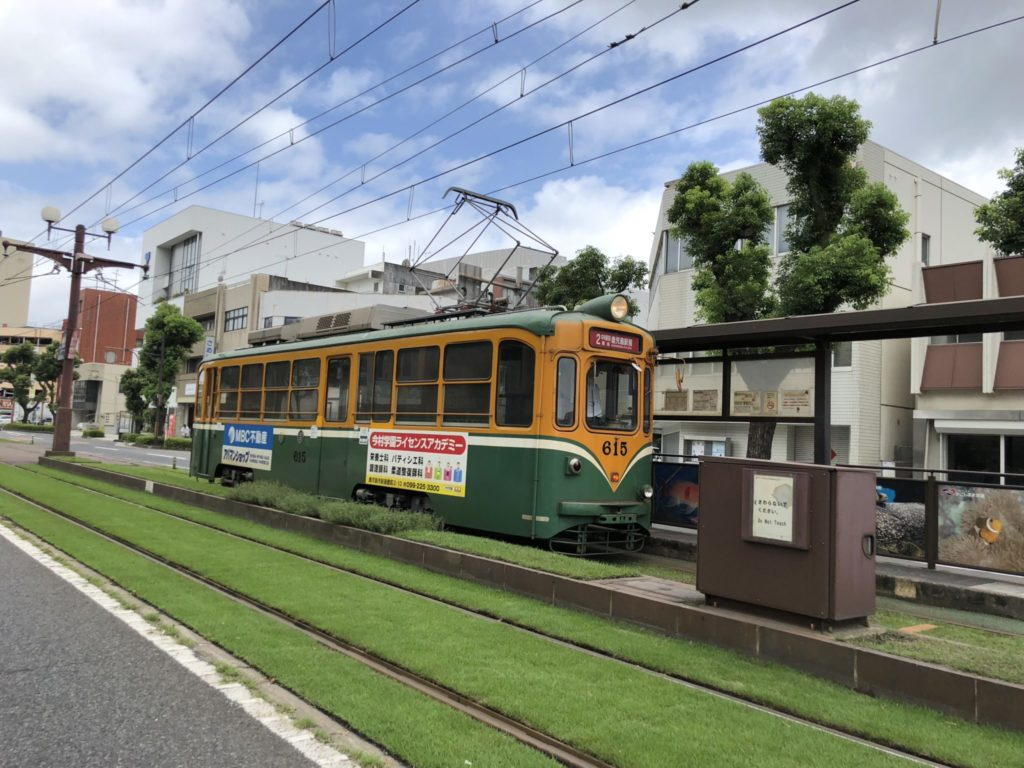鹿児島市内の路面電車