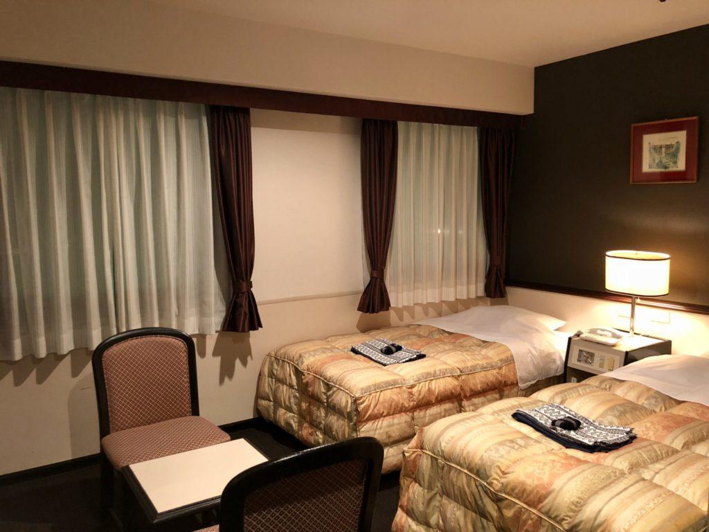 かごしま空港ホテルの部屋