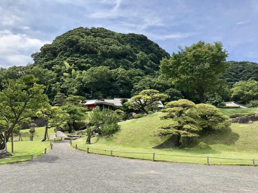 仙巌園の庭園