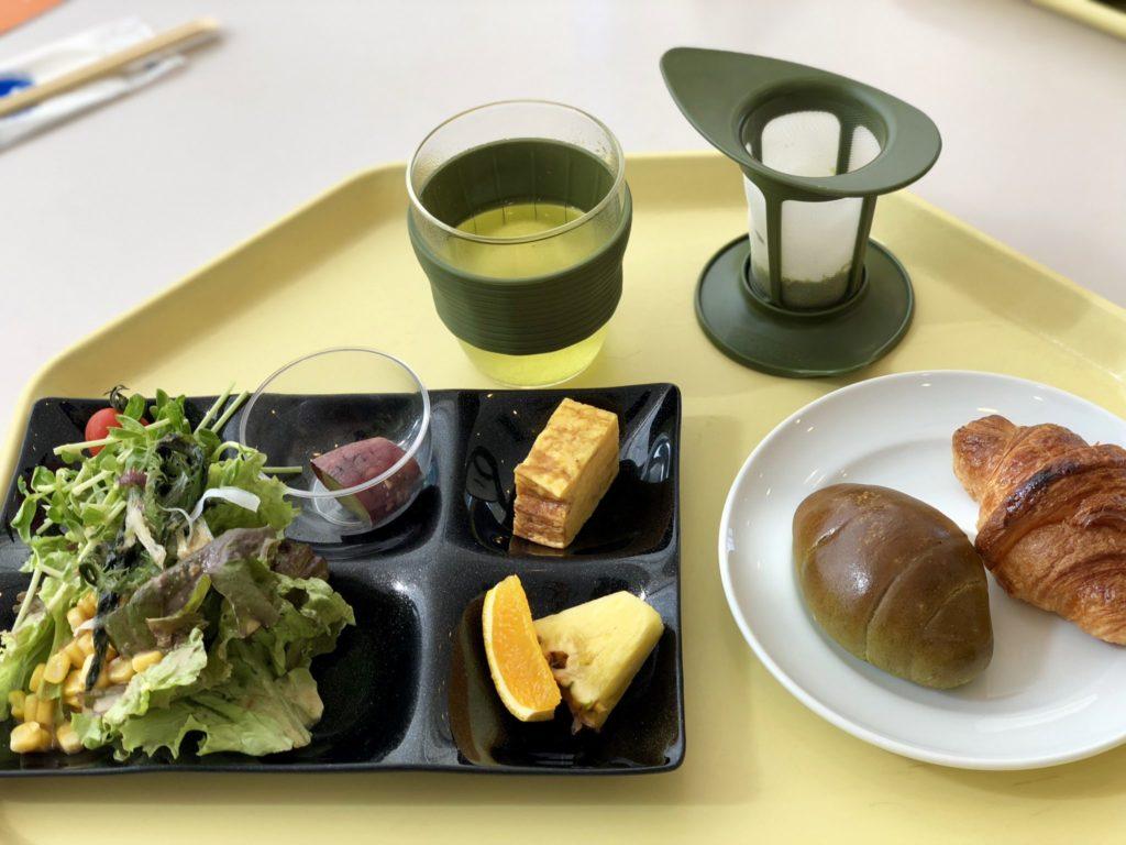 ホテル京セラの朝食