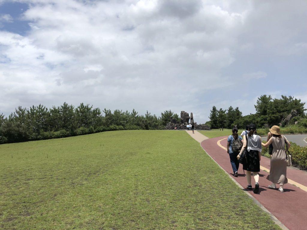 桜島の赤水展望広場