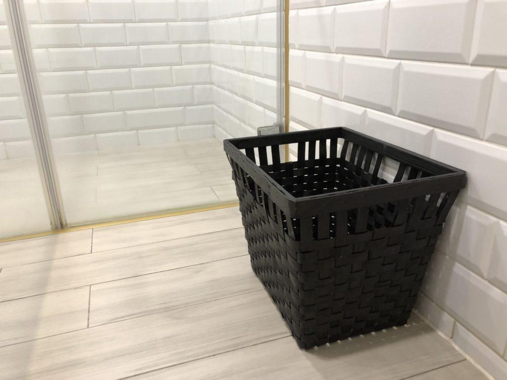 ブティシティカプセルイン台北のシャワールーム