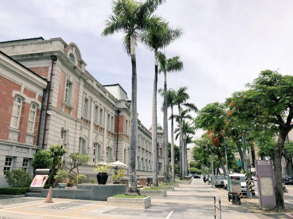 台南の街並み