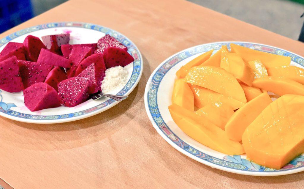 清吉水果実店のフルーツ