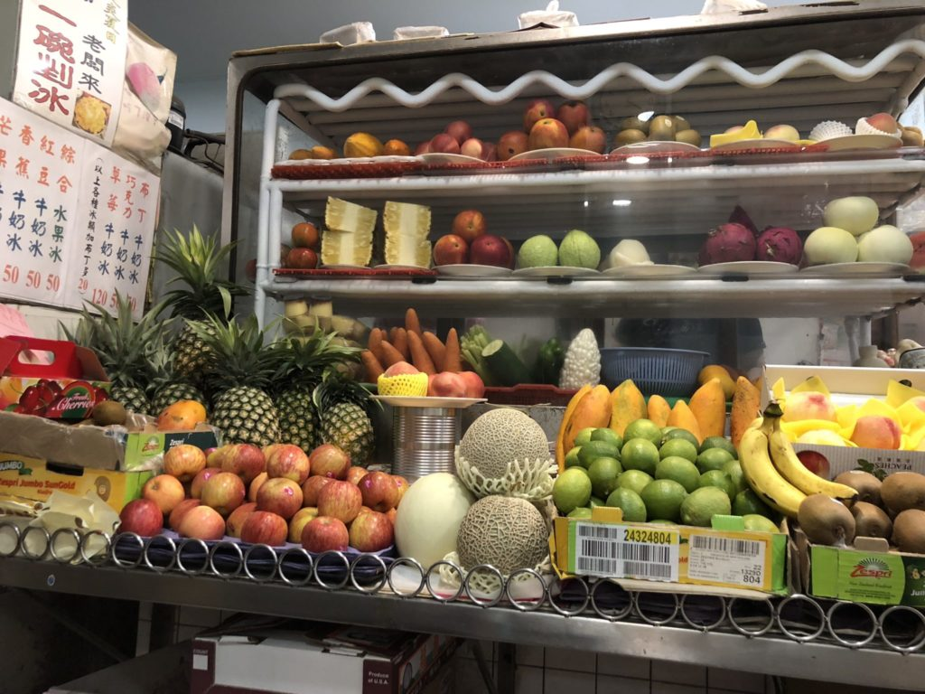 清吉水果店の店内