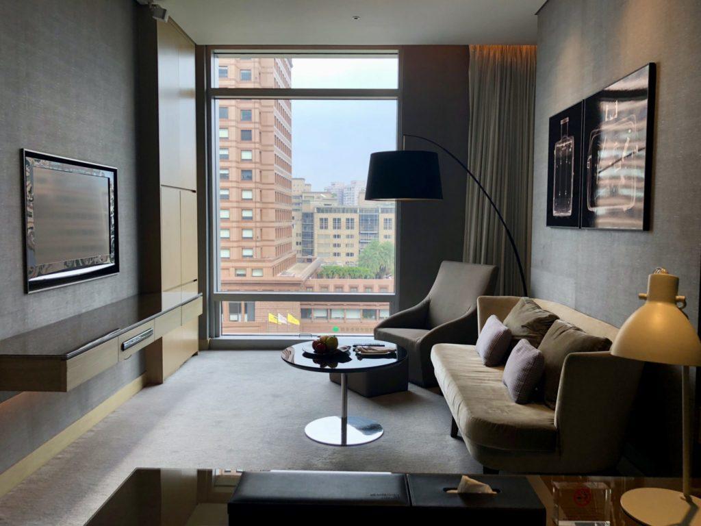 ルメリディアン台北の室内