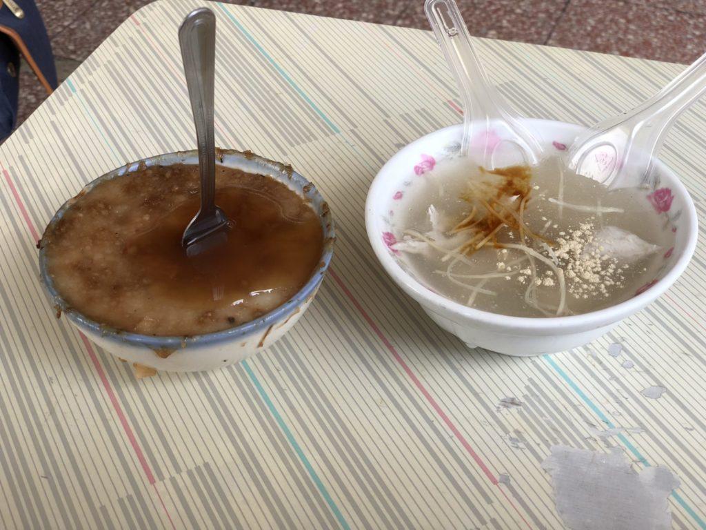 檨仔林阿全碗粿のライスプディング
