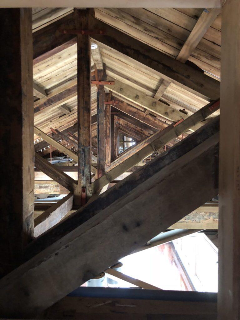 台中の旧市役所の3階