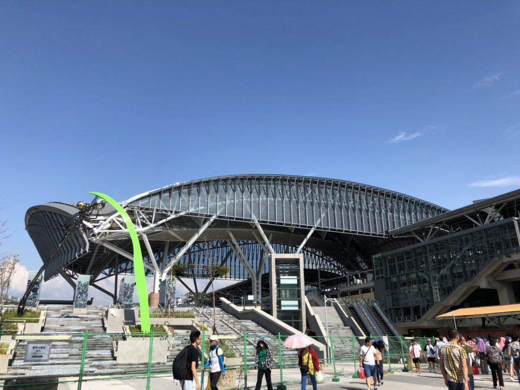 台鐵台中駅の外観