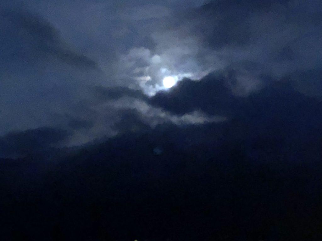 日月潭の中秋の名月