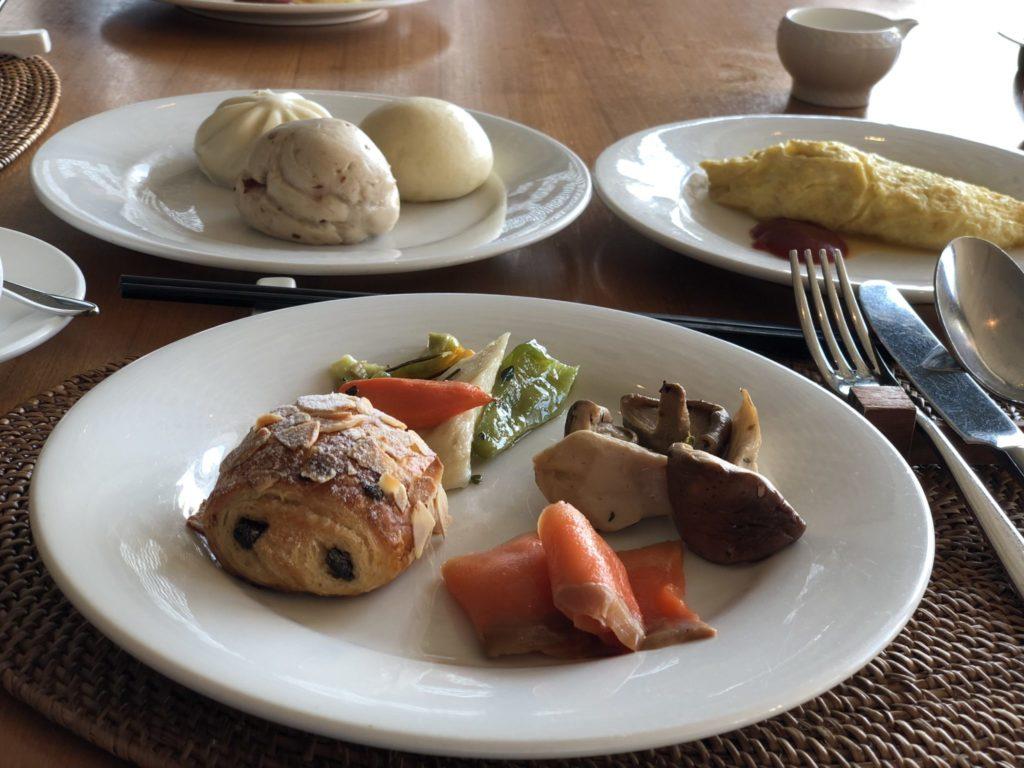 ザ・ラルーホテルの朝食